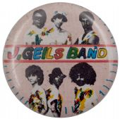J Geils Band - 'Group Pink' Button Badge